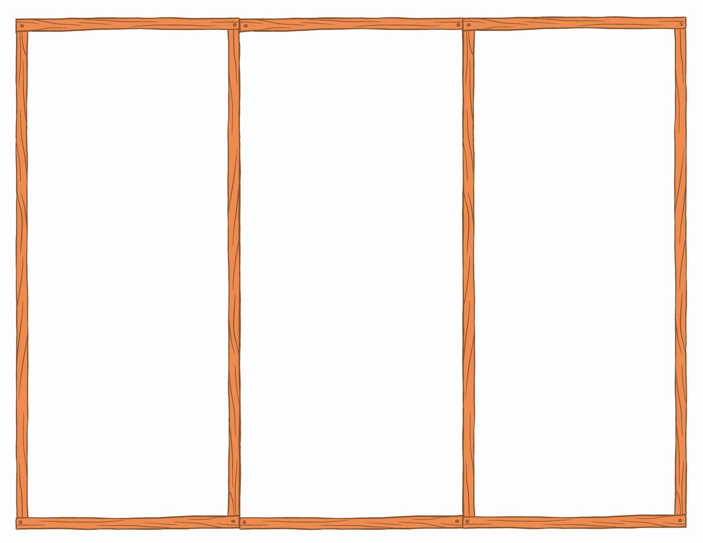 Tri Fold Brochure Word Template Lovely Blank Tri Fold Brochure Template