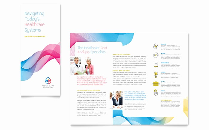 Tri Fold Brochure Word Template Luxury Insurance Consulting Tri Fold Brochure Template Word