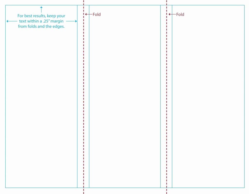 Tri Fold Brochure Word Template Unique Tri Fold Brochure Template Word