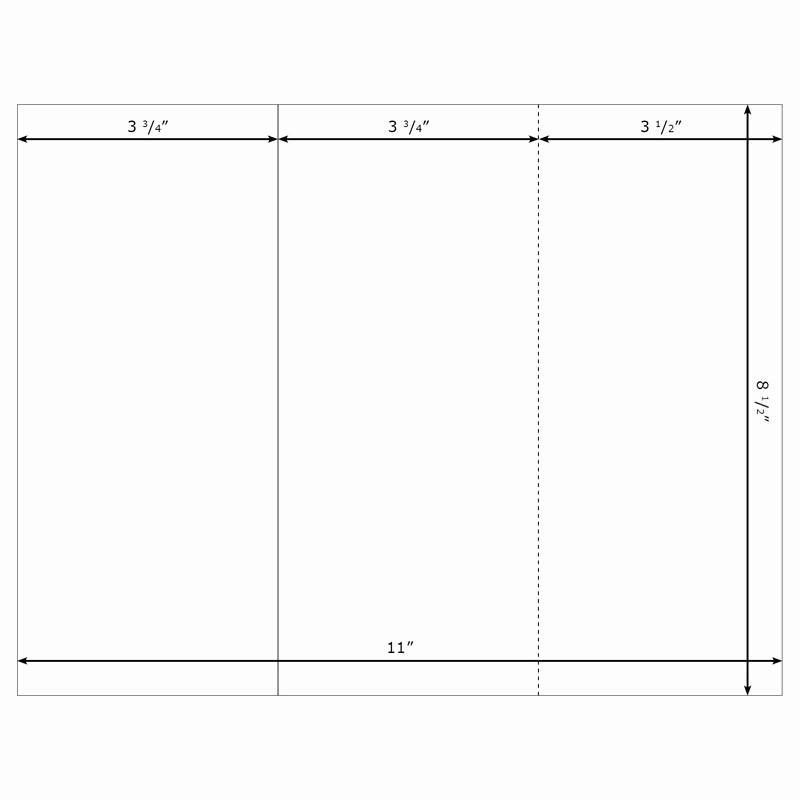 Tri Fold Template for Word Awesome Free Blank Tri Fold Brochure Templates Csoforumfo