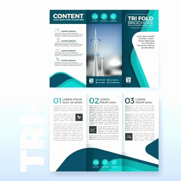 Tri Fold Template for Word Beautiful Tri Fold Brochure Template Microsoft Word 2003