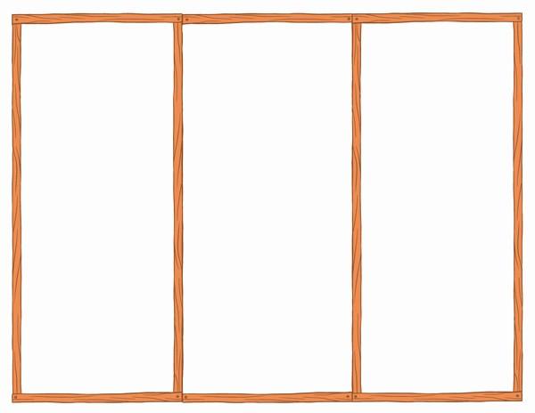Tri Fold Template for Word Elegant Free Blank Tri Fold Brochure Templates Csoforumfo