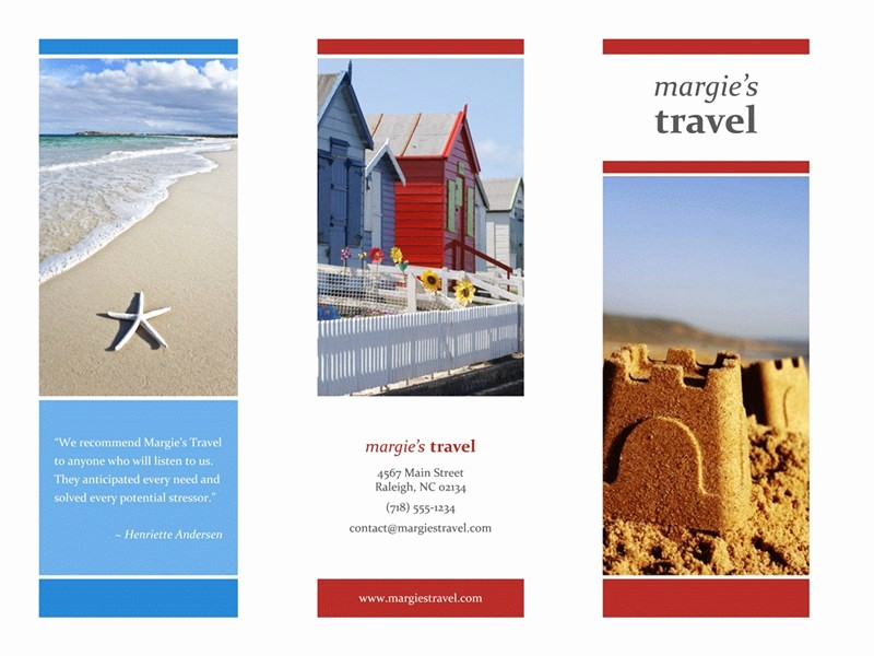 Tri Fold Travel Brochure Examples Best Of Tri Fold Travel Brochure Red Gold Blue Design