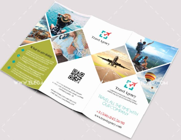 Tri Fold Travel Brochure Examples Elegant 40 Free Professional Tri Fold Brochures for Business