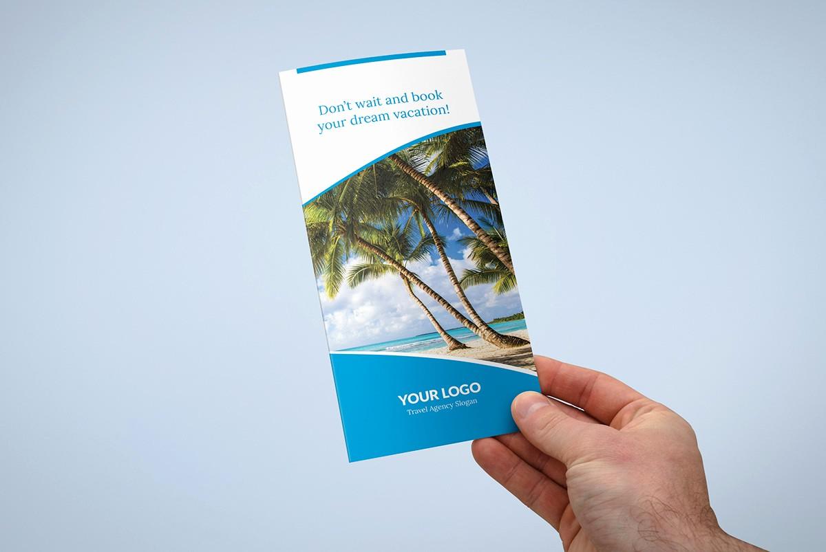 Tri Fold Travel Brochure Examples Elegant Brochure – Travel Agency Tri Fold Template On Pantone