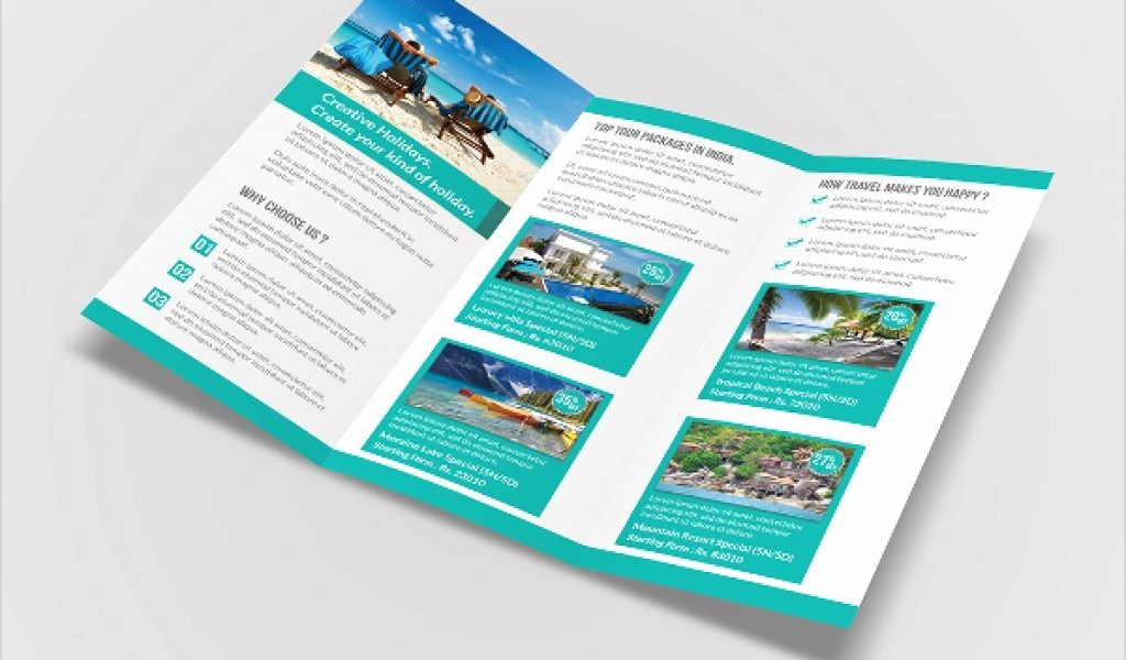 Tri Fold Travel Brochure Examples Fresh Tri Fold Travel Brochure Examples