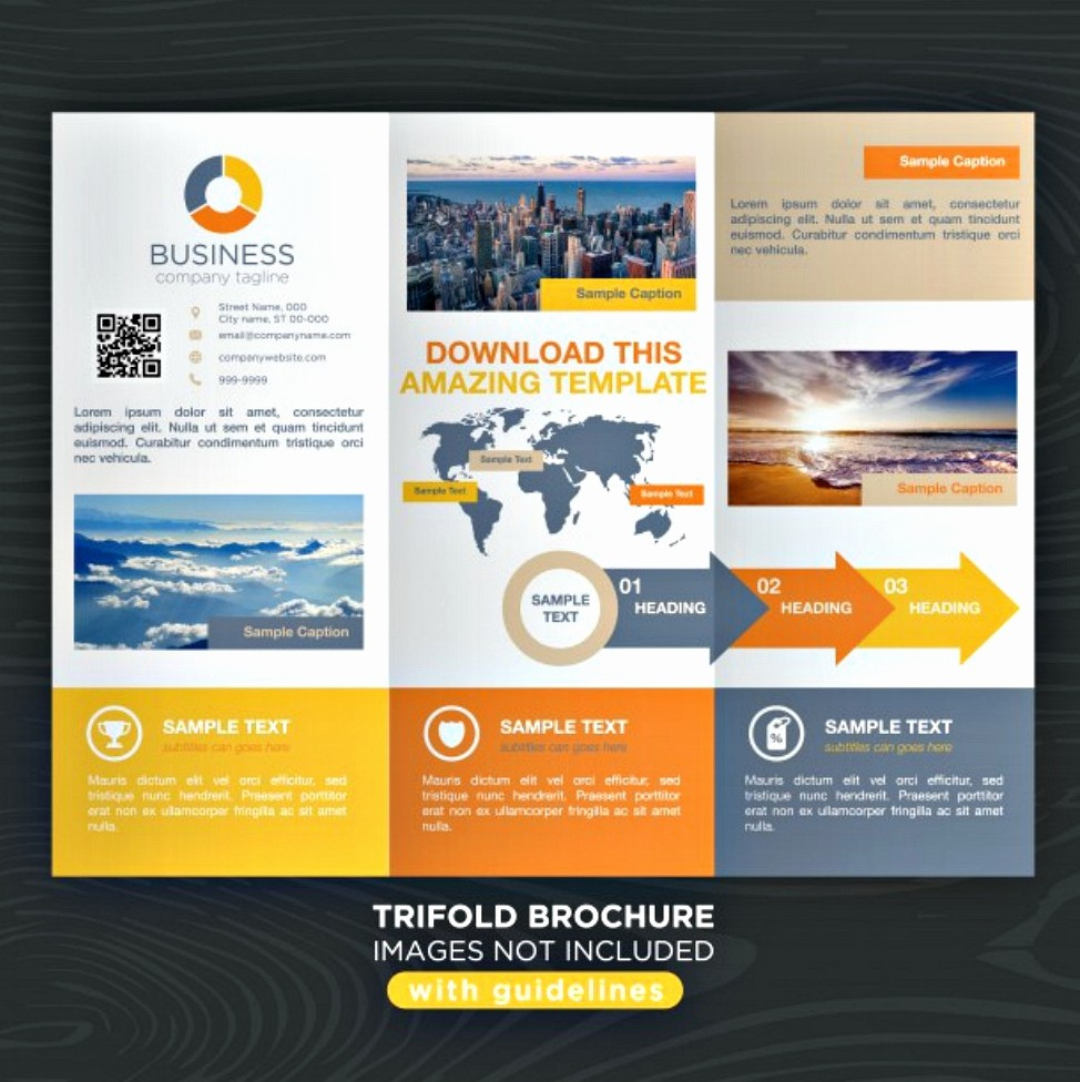 Tri Fold Travel Brochure Examples Inspirational 30 Best Brochure Examples Psd Indesign format
