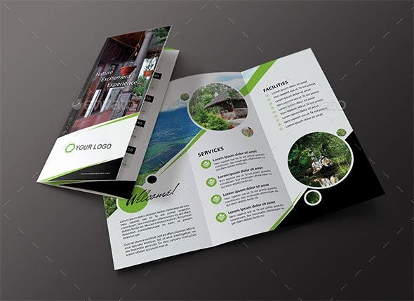 Tri Fold Travel Brochure Examples Inspirational 65 Print Ready Brochure Templates Free Psd Indesign & Ai