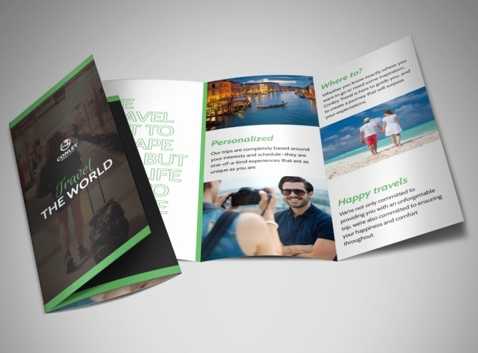 Tri Fold Travel Brochure Examples Inspirational Travel Brochure Template