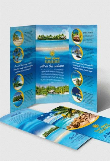 Tri Fold Travel Brochure Examples Luxury Grapher – Free Tri Fold Psd Brochure Template – by