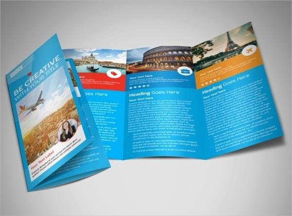 Tri Fold Travel Brochure Examples New 30 Travel Brochure Templates Free Psd Ai Eps format