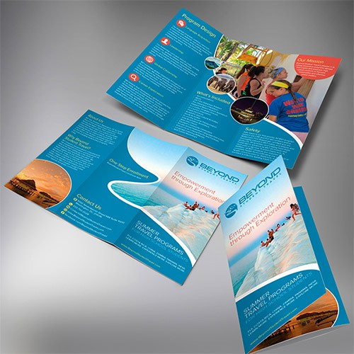 Tri Fold Travel Brochure Examples Unique 30 Creative Examples Of Tri Fold Brochure Designs