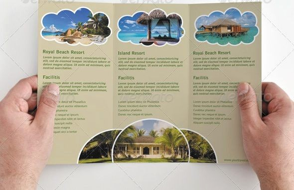 Tri Fold Travel Brochure Examples Unique Tri Fold Brochure Template Travel Agency