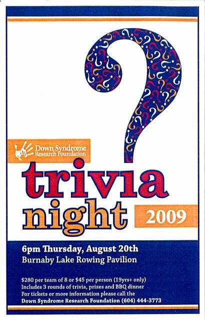 Trivia Night Flyer Template Free Inspirational Dsrf Trivia Night