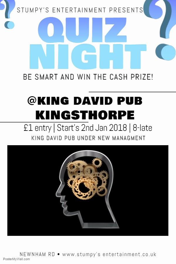 Trivia Night Flyer Template Free Luxury New Quiz Night for northampton Stumpys Entertainment