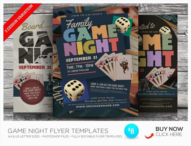 Trivia Night Flyer Template Free New Trivia Night Flyer Templates by Kinzi21