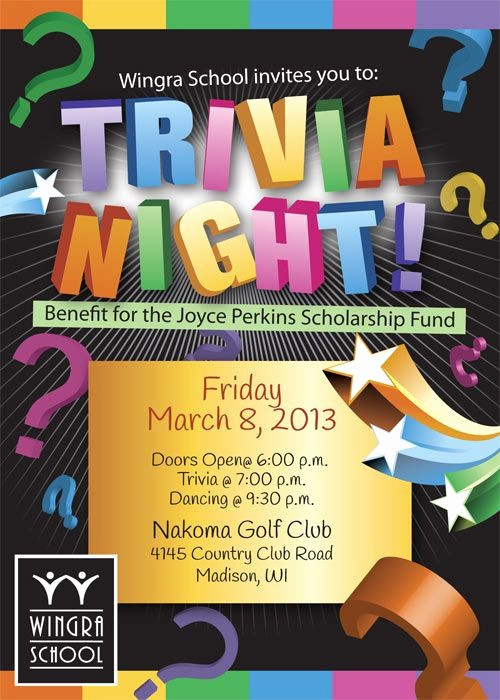 Trivia Night Flyer Template Free Unique Trivia Night event Flyer
