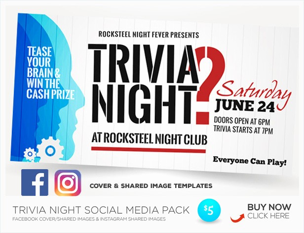 Trivia Night Flyer Template Free Unique Trivia Night Flyer Templates by Kinzi21