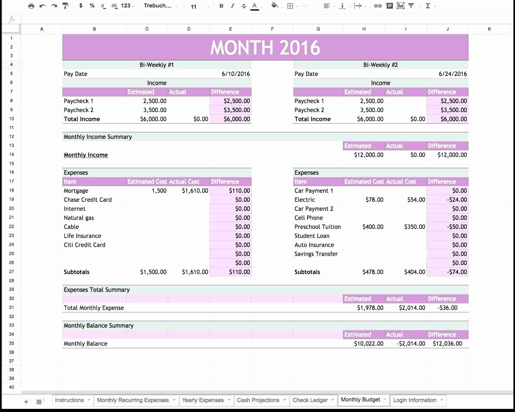 Trucking Profit and Loss Spreadsheet Beautiful Truck Driver Profit and Loss Statement Template or Ebay