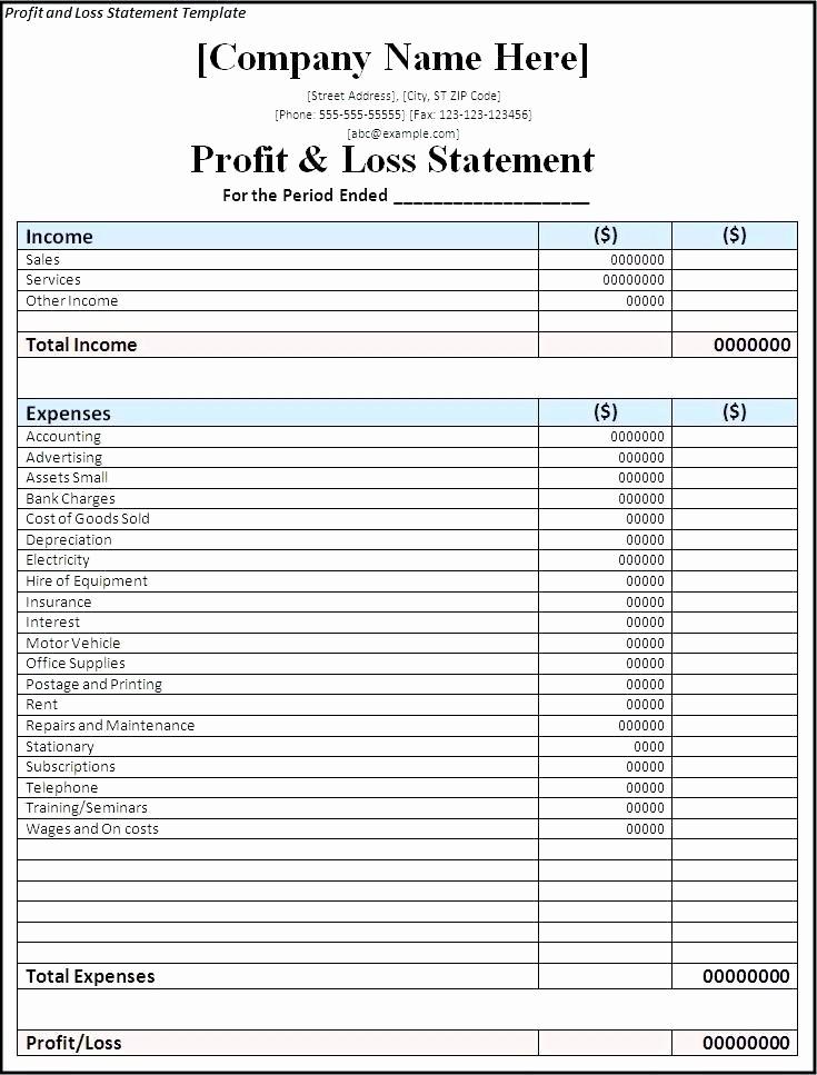 Trucking Profit and Loss Spreadsheet Beautiful Trucking Profit and Loss Spreadsheet Luxury Excel Sheet