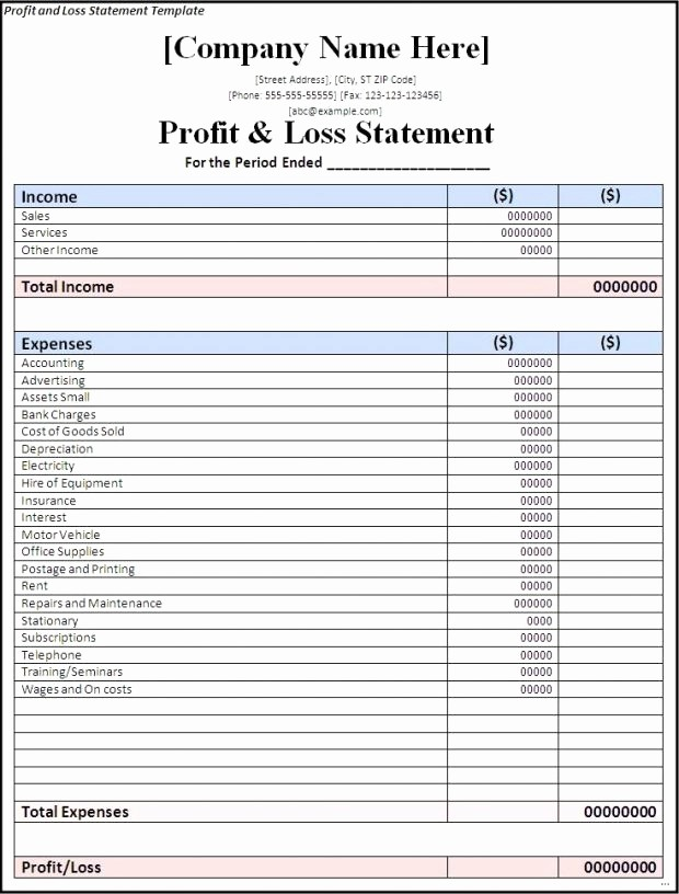 Trucking Profit and Loss Spreadsheet Elegant Profit and Loss Spreadsheet 2018 How to Make An Excel