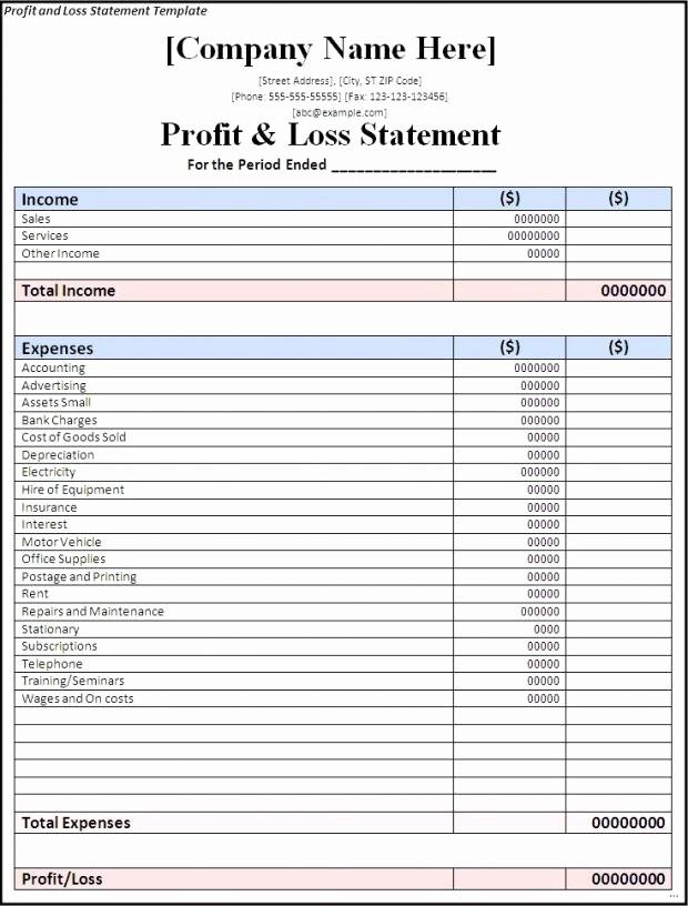 Trucking Profit and Loss Spreadsheet Elegant Profit and Loss Spreadsheet 2018 How to Make An Excel