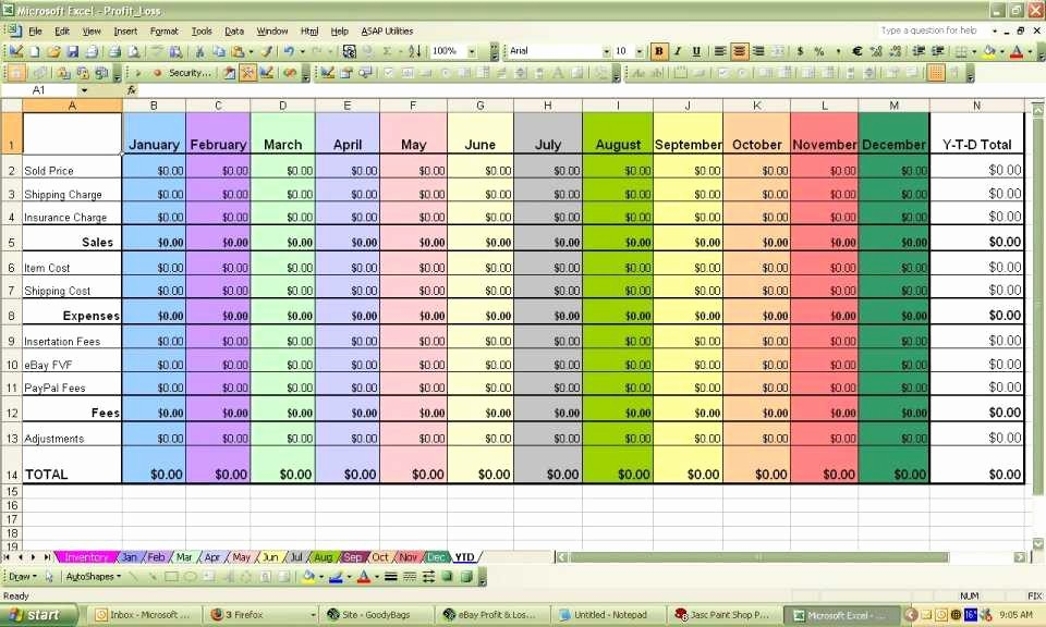 Trucking Profit and Loss Spreadsheet Luxury Trucking Profit and Loss Spreadsheet New S
