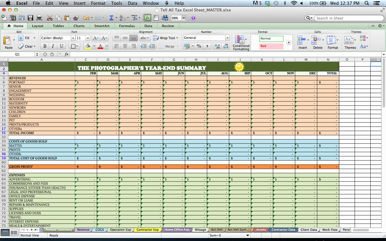 Trucking Profit and Loss Spreadsheet New Trucking Profit and Loss Spreadsheet