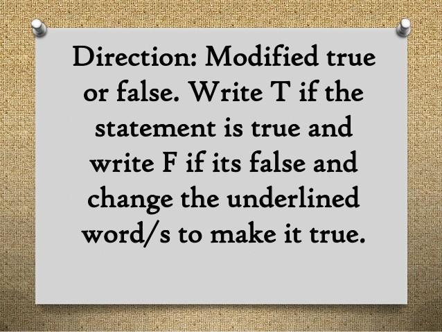 True or False Quiz Maker New Laws' Of Translation
