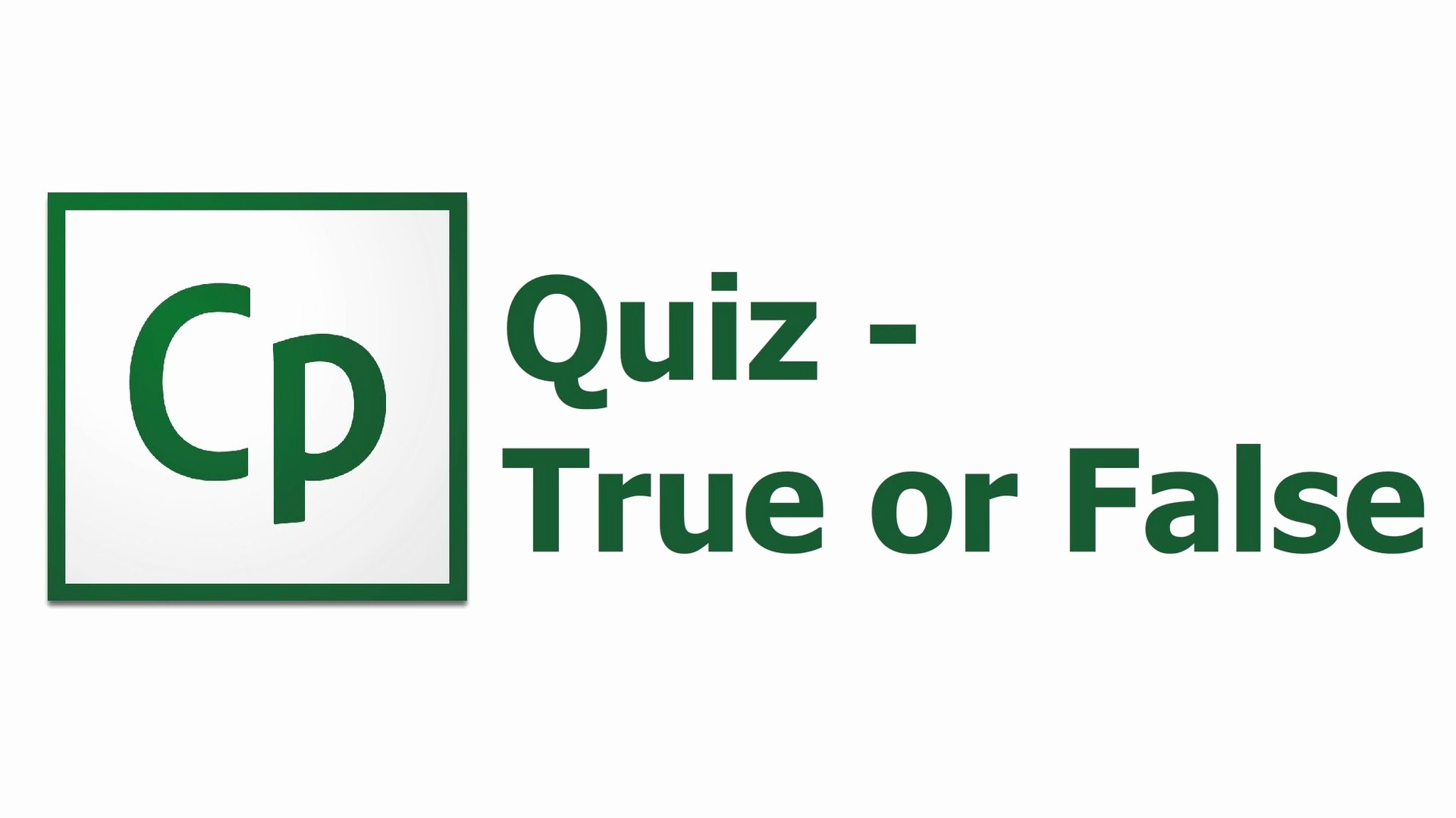 True or False Test Template Best Of Adobe Captivate 8 Quiz True False Free Tutorial