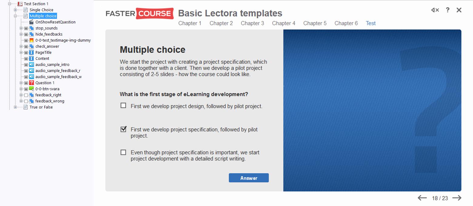 True or False Test Template Inspirational Basic Template Guide Lectora Templates Fastercourse