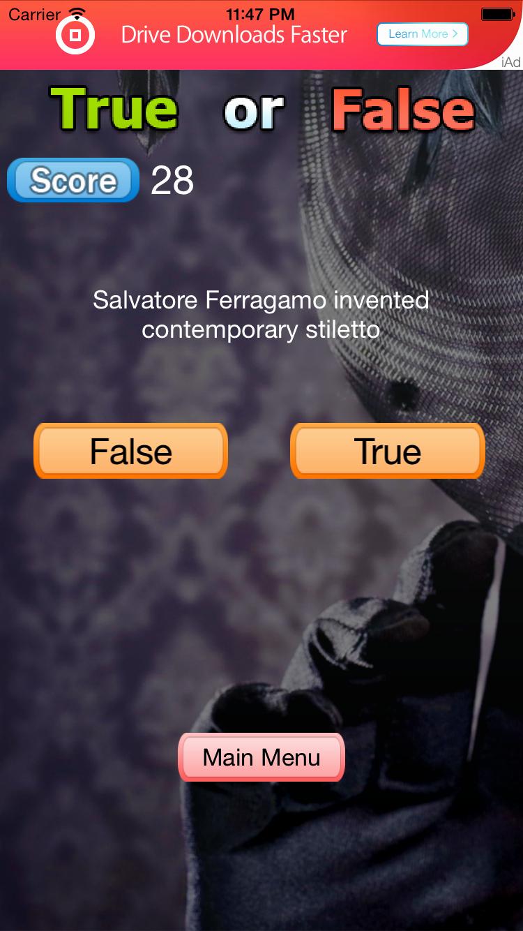True or False Test Template Inspirational True or False Game for Ios Swift by Codinglyft