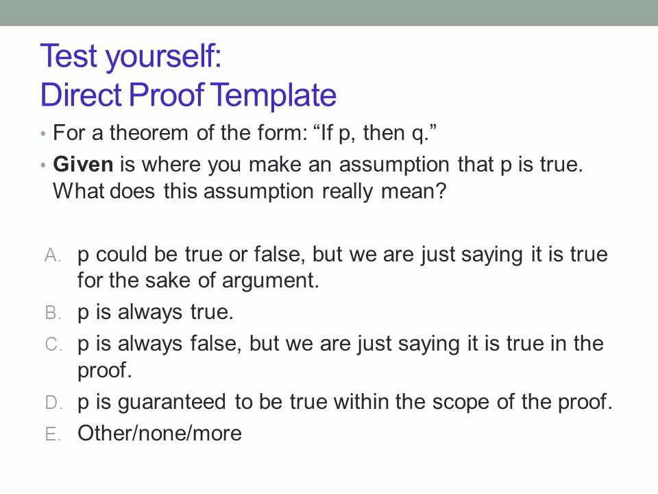 True or False Test Template New Prof Shachar Lovett Er Frequency Ca Cse 20 Discrete