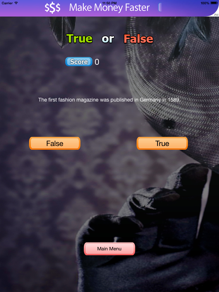 True or False Test Template New True or False Game for Ios Swift by Codinglyft