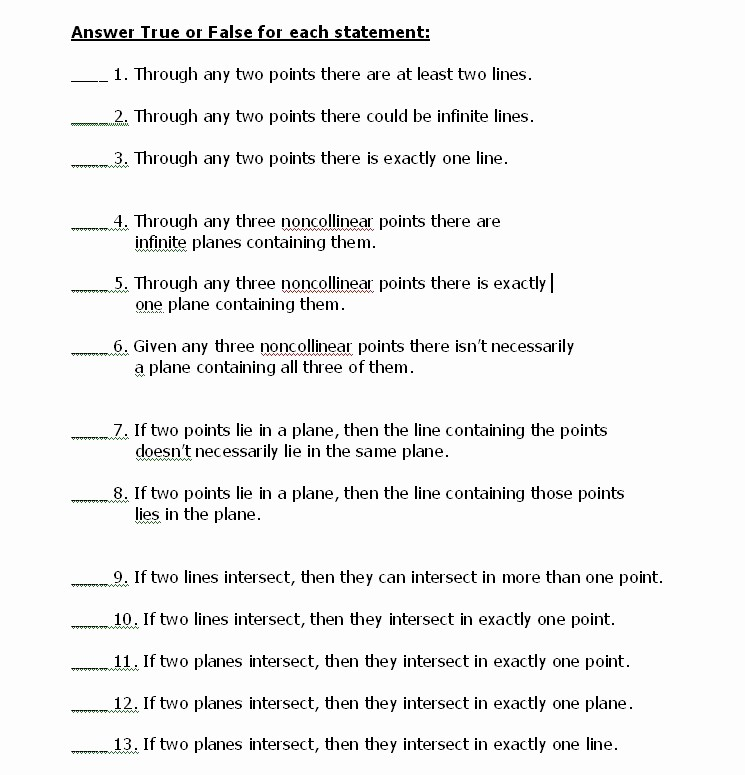 True or False Test Template Unique True False Math Worksheets True Best Free Printable