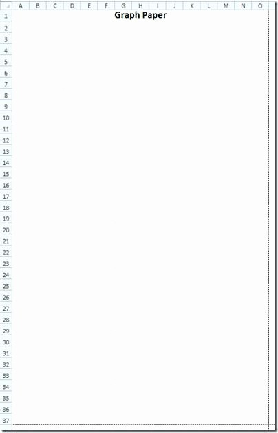Turn Excel Into Graph Paper Beautiful Excel Grid Template – Dhakabank