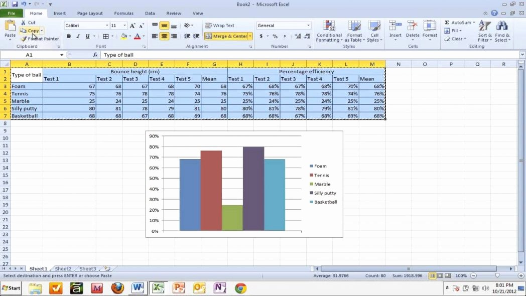 Turn Excel Into Graph Paper Fresh Copying Tables and Graphs From Excel to Word Youtube Turn