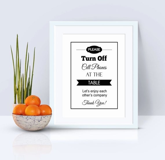 Turn Off Cell Phone Sign Beautiful No Cell Phone Sign Please Turn F Cell Phone Wall by