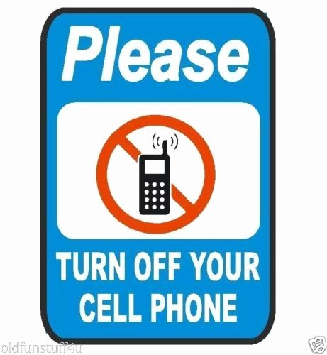 Turn Off Cell Phone Sign Fresh Please Turn F Cell Phone Safety Business Sign Decal