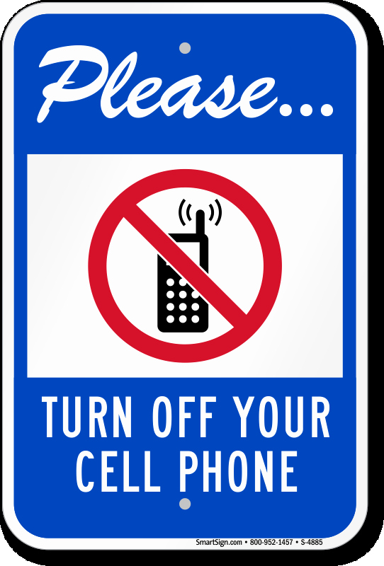 Turn Off Cell Phone Sign Fresh Please Turn F Cell Phone Signs No Cell Phone Signs Sku