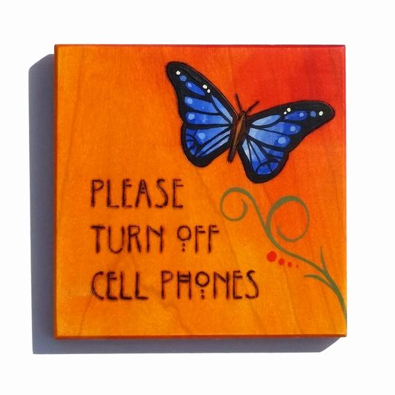 Turn Off Cell Phone Sign New Cell Phones Please Turn F Sign