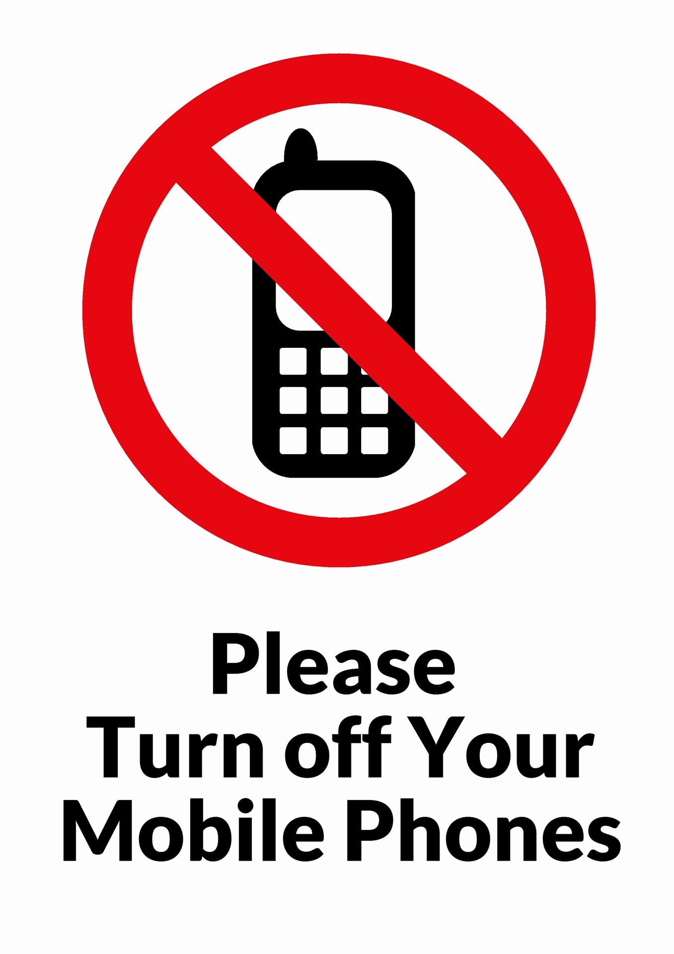 Turn Off Cell Phone Sign Unique Please Turn F Your Mobile Phones Free Stock