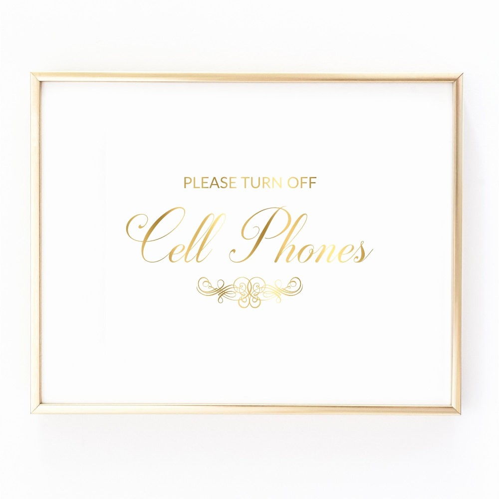 Turn Off Cell Phones Sign New Please Turn F Cell Phones Printable Sign Digital Download