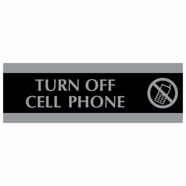 Turn Off Cell Phones Sign New U S Stamp & Sign 4759 Century Turn F Cell Phone Sign 1
