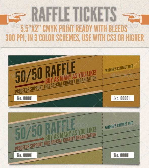 Two Part Raffle Tickets Template Best Of Ticket Printing is An Important Part Of A Successful event