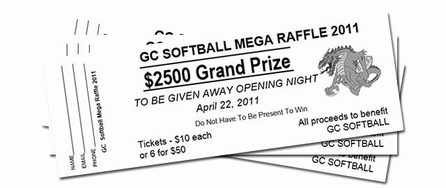 Two Part Raffle Tickets Template Elegant How to Get A Free Raffle Ticket Template for Microsoft Word