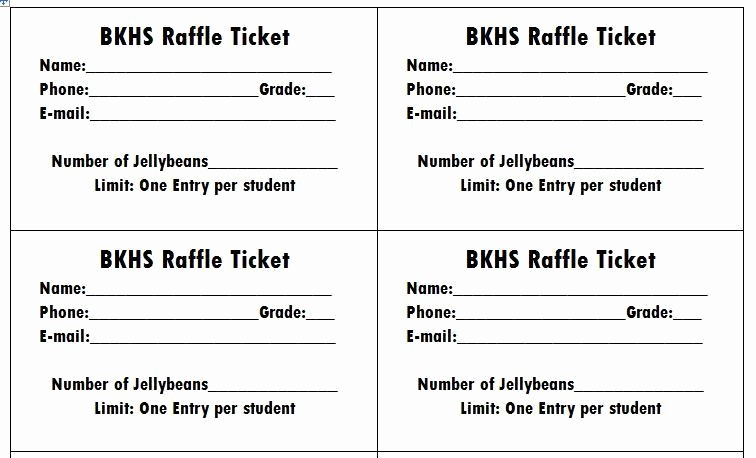 Two Part Raffle Tickets Template Fresh Free Raffle Tickets Movie Tickets Templates Word