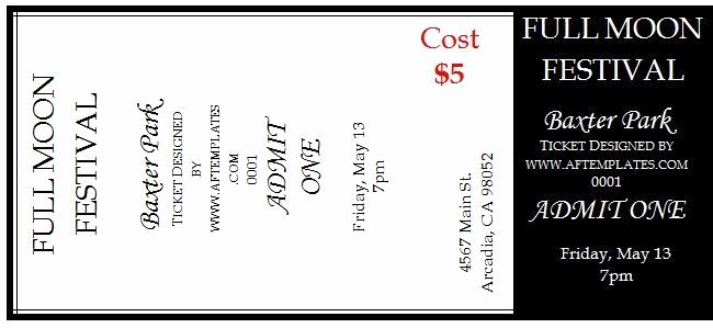Two Part Raffle Tickets Template Inspirational Free Raffle Tickets Movie Tickets Templates Word