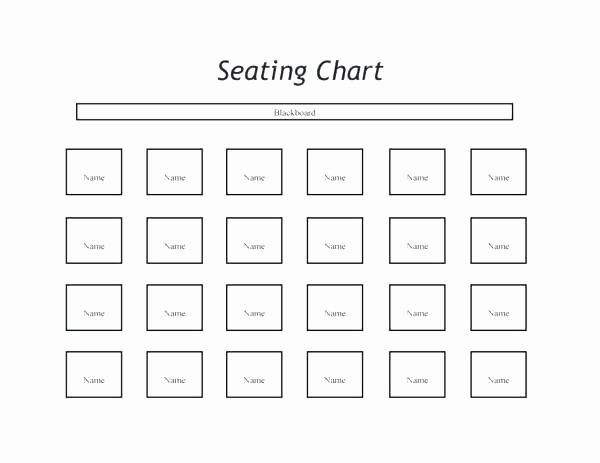 U Shaped Seating Chart Template Awesome Classroom Seating Chart Templates – Puebladigital