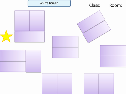 U Shaped Seating Chart Template Beautiful Visual Seating Plan Template by Uk Teaching Resources Tes